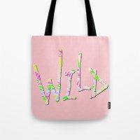 Wild One Four Tote Bag
