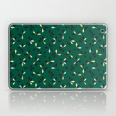 loves me loves me not pattern - hunter green Laptop & iPad Skin
