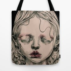 Rabbit Eyes Tote Bag