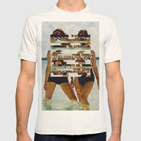 Bee Keen E. Gurls Mens Fitted Tee Natural SMALL