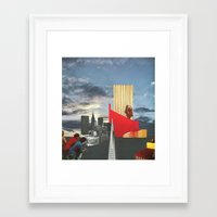 The City As Home 4 Framed Art Print