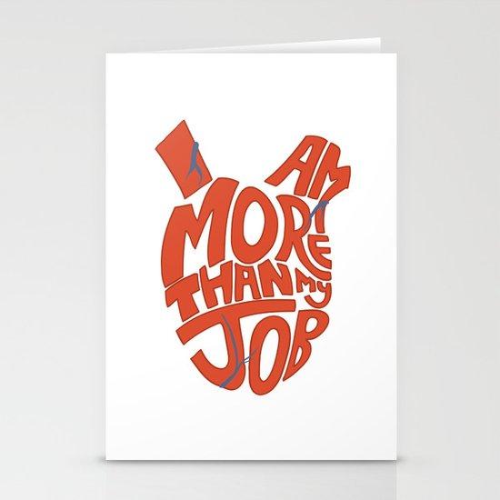 Job =/= Self Stationery Card