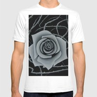 Beauty is Pain Mens Fitted Tee White SMALL