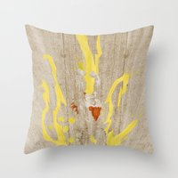 Call Me, Jimmy: Hyper Edition (Homage to Blanka) Throw Pillow