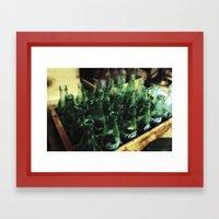 For Returning Framed Art Print