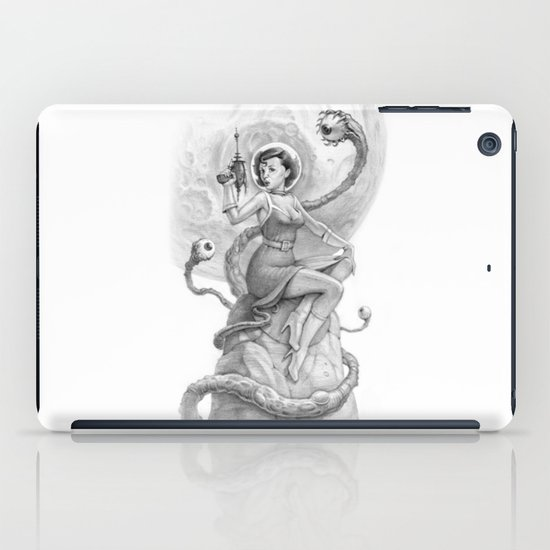 Astro Babe B&W iPad Case