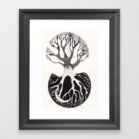 day&night Framed Art Print
