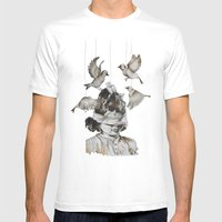 Enfance Perdue Mens Fitted Tee White SMALL