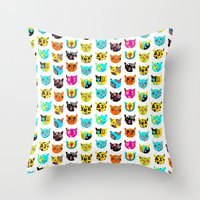 C.C.W.C. Throw Pillow