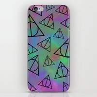 Deathly Hallows  iPhone & iPod Skin
