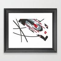 e-tron Framed Art Print