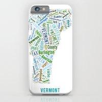 Word Cloud - Vermont iPhone 6 Slim Case