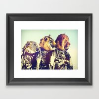 The Mission Comes First Framed Art Print