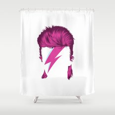 Bowie / Ziggy Shower Curtain