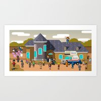 Super Arrested Development  Art Print