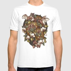 Botanica SMALL White Mens Fitted Tee