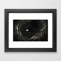 Delicate Wings Framed Art Print