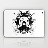 Kirby Ink Blot Geek Psychological Disorders Laptop & iPad Skin