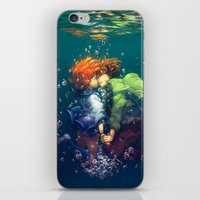 Hold your breath iPhone & iPod Skin