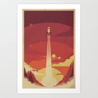 Atomic Sky Art Print