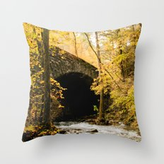 Stone Bridge Throw Pillow