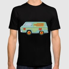 Mystery Machine - Scooby-Do!  III/III Mens Fitted Tee Black SMALL