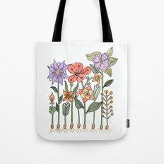 Progress flowers Tote Bag
