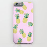 Ananas party iPhone 6 Slim Case