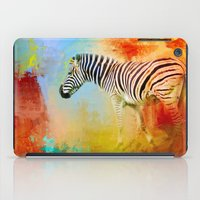 Colorful Expressions Zeb… iPad Case