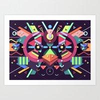 BirdMask Visuals - Swift Art Print