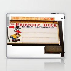 The Friendly Duck Restaurant Laptop & iPad Skin