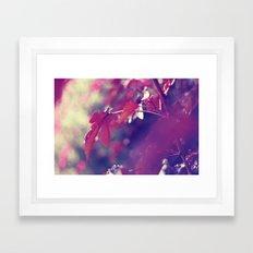feeling like fall Framed Art Print