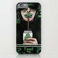 iPhone & iPod Case featuring Feed Your Machine  by R.A.Carter