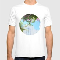 Ios Mens Fitted Tee White SMALL