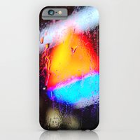 iPhone & iPod Case featuring Boston Rain by Helok
