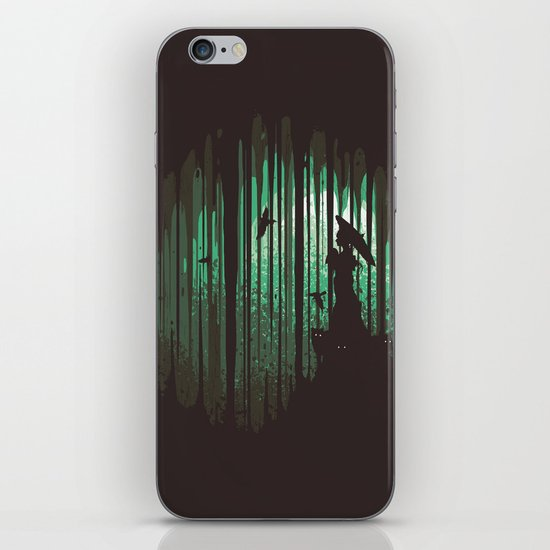 Hidden Place iPhone & iPod Skin