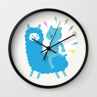 Alpaca Rider Wall Clock