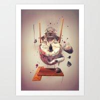 NOSUN Art Print