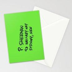 P. Sherman, 42 Wallaby Way Stationery Cards