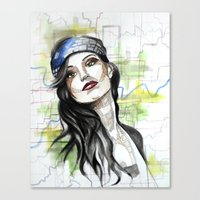 Katie Canvas Print