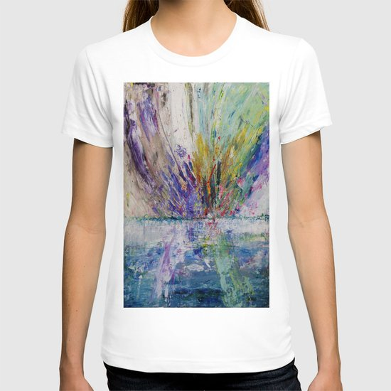 Live life to the fullest - abstract painting T-shirt