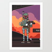 EP5 : Boba Fett Art Print