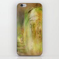 Buddha Illustration iPhone & iPod Skin
