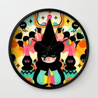Magical Friends Wall Clock