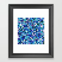 Pixel Painting Framed Art Print