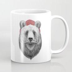 bearded bear Mug