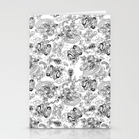 Polypus Filamentum (Pattern) Stationery Cards
