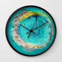 the abstract dream 17 Wall Clock