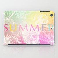 PRISMATIC SUMMER RAINBOW iPad Case