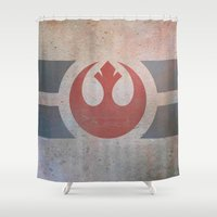Rebellion Shower Curtain